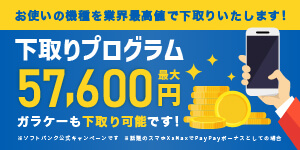 最大54,000円下取りバック!