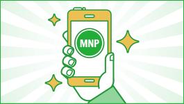 MNP予約番号の発行完了