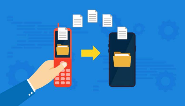 ガラケー(2つ折り携帯)→スマホのデータ移行法