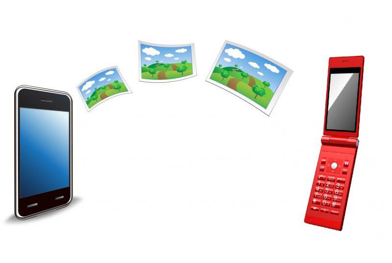 ガラケー(2つ折り携帯)からスマホへデータ移行
