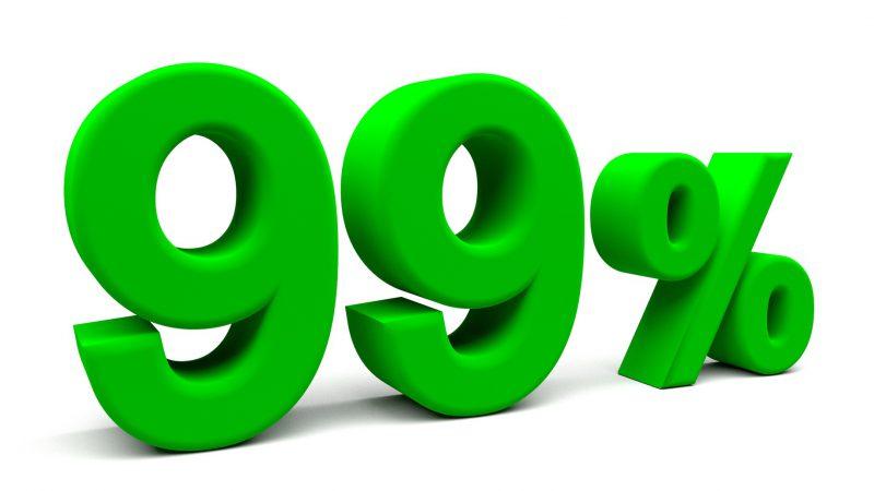 ソフトバンクの4G・LTE電波が人口カバー率99%