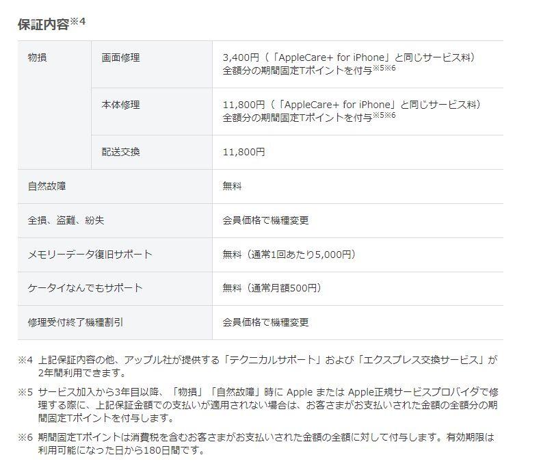 あんしん保証パック with AppleCare Services