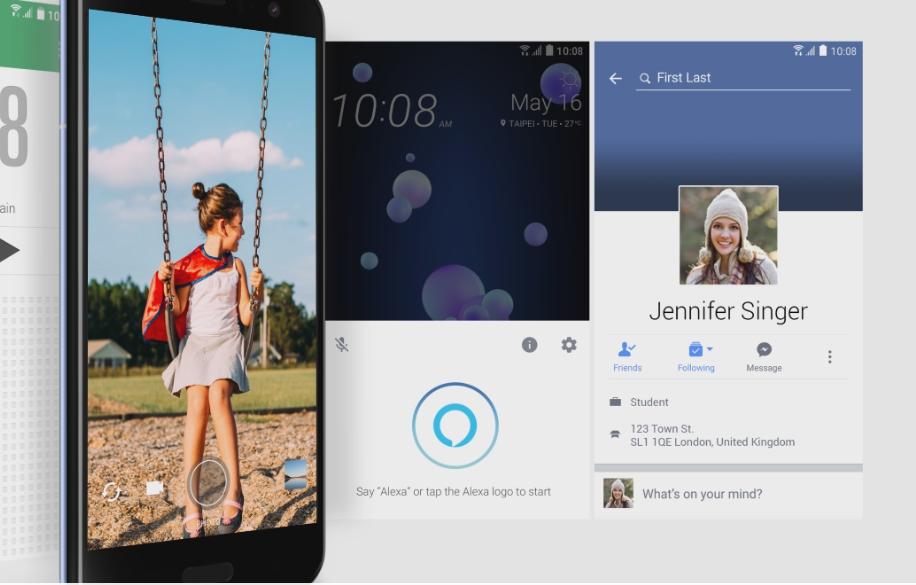 握るだけでフェイスブックやツイッター、ピンタレストなどのアプリを起動させることができます。