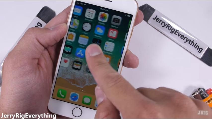 iPhone8耐久テストtest12