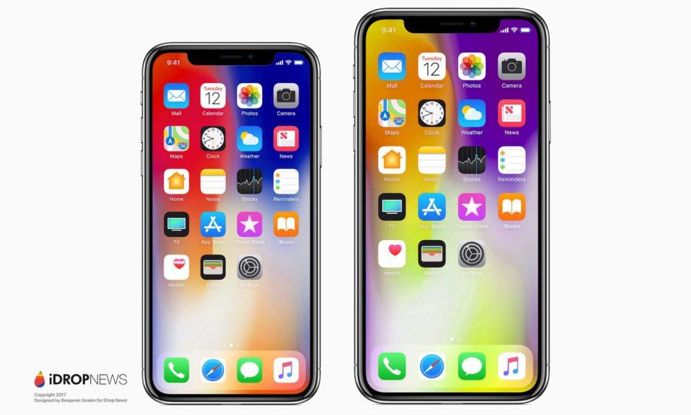 『iDrop News』が公開したiPhone X Plusのコンセプト画像