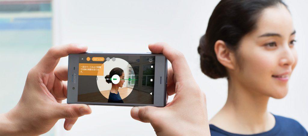ソニー独自開発のアプリ「3Dクリエーター」を使うと人や物など360度の3D撮影が出来ます!