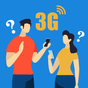 ソフトバンク回線が「3Gになる」?原因と4G・LTEに戻す方法!