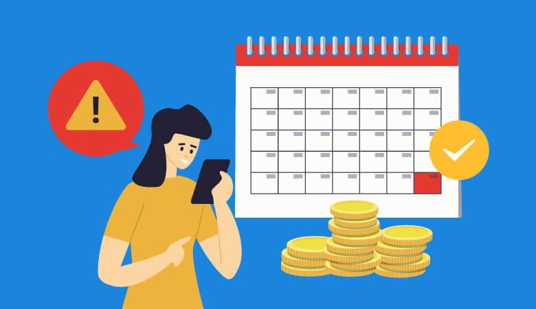 MNP(携帯乗り換え)は解約日と契約開始日に要注意!出費を減らすなら月末!