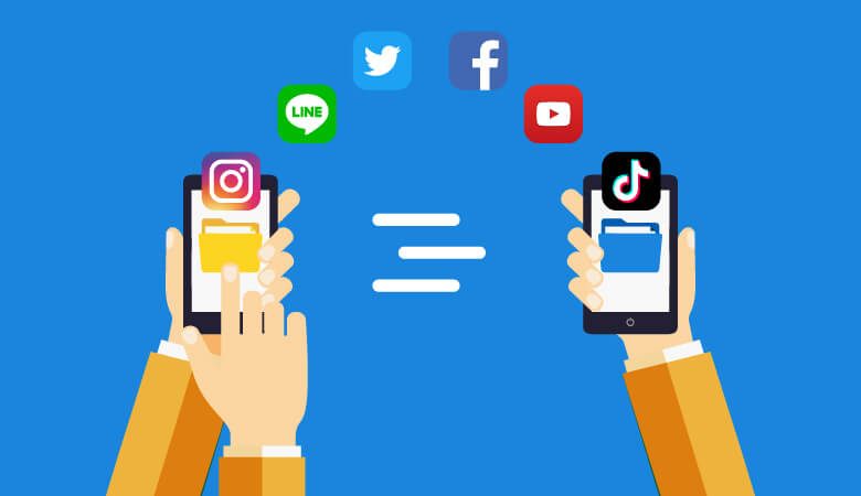 携帯乗り換え(MNP)でアプリのデータ移行の注意点!引継げないことも?