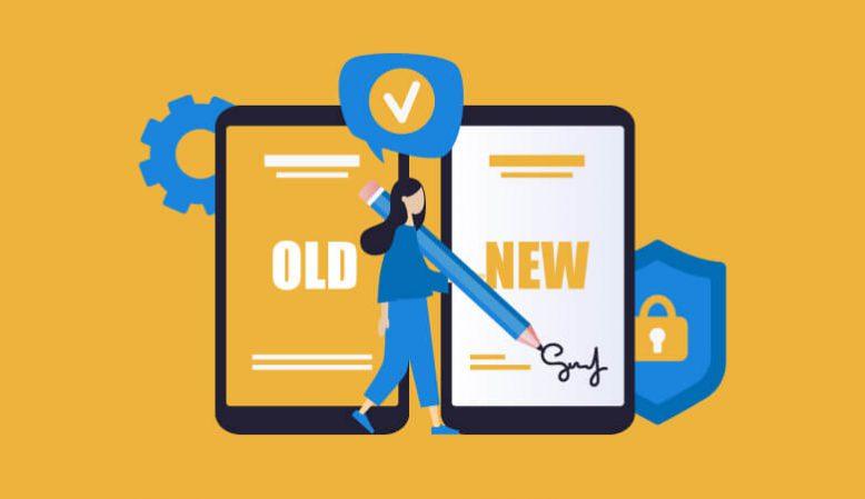 携帯乗り換え(MNP)に伴う名義変更手続き方法