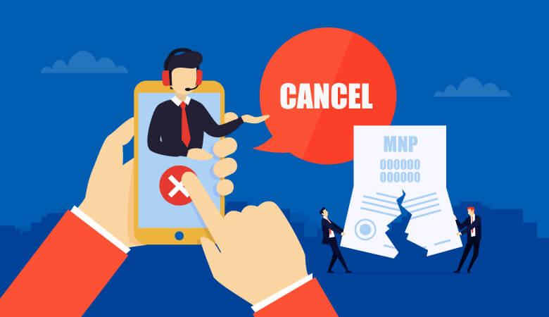 MNPは解約できるの?MNP予約番号をキャンセルする方法