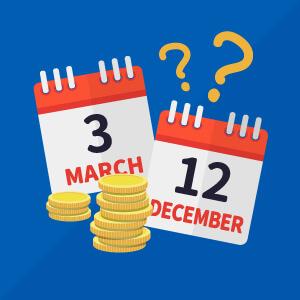 スマホの買い替え時期はいつがベスト?12月と3月はお得!?