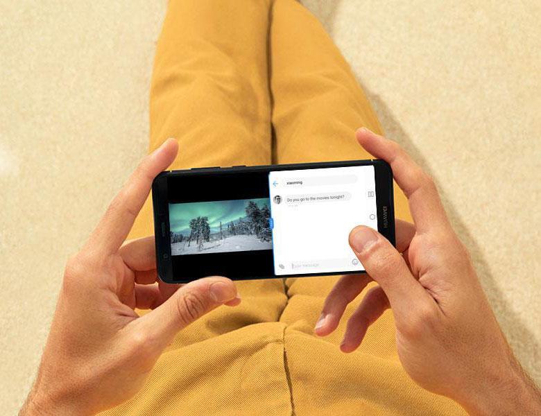 HUAWEI nova lite 2のマルチスクリーン