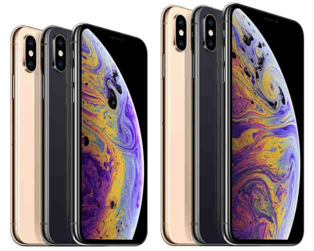 iPhoneXS/XS Maxのカラーバリエーション