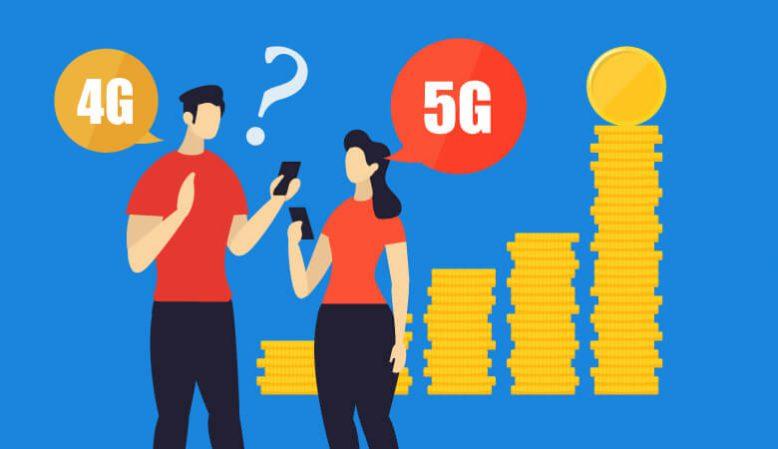 5Gが始まると通信料金は高くなる?本体代金は?