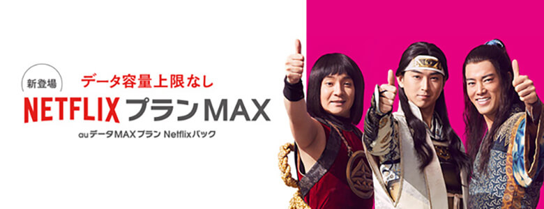 auデータMAXプラン Netflixパック