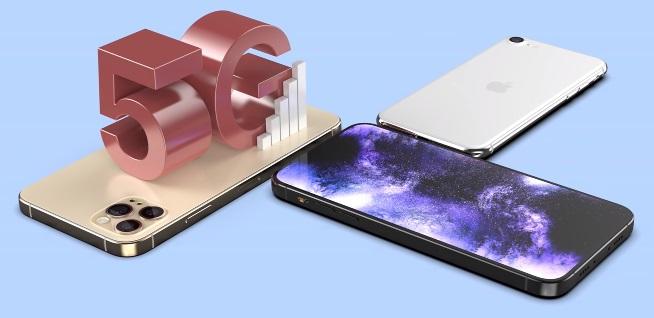iPhone12 デザイン 5G