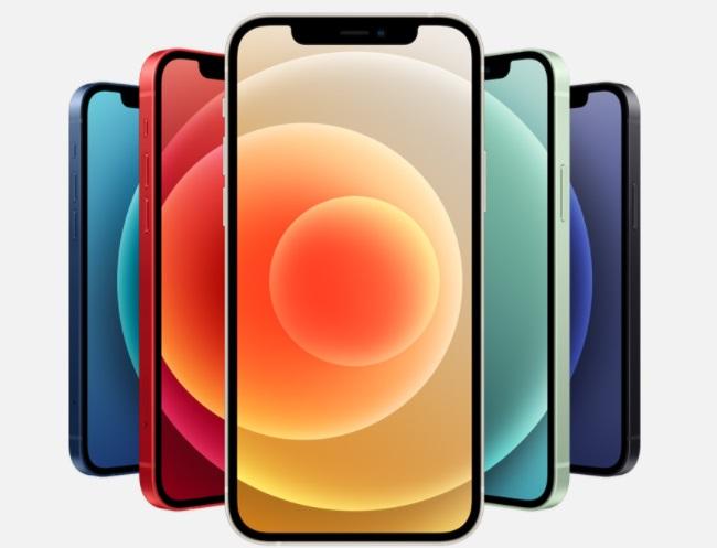 iPhone12 デザイン