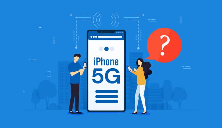 5G対応iPhoneの発売日はいつなのか?iPhone12で対応予定?