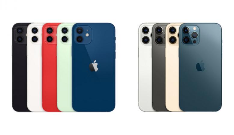 iPhone 12シリーズの画像