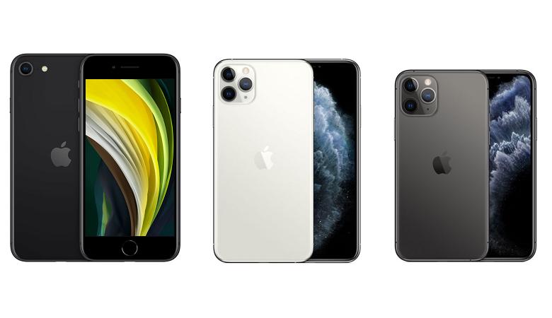 iPhone SE~11 Proの画像