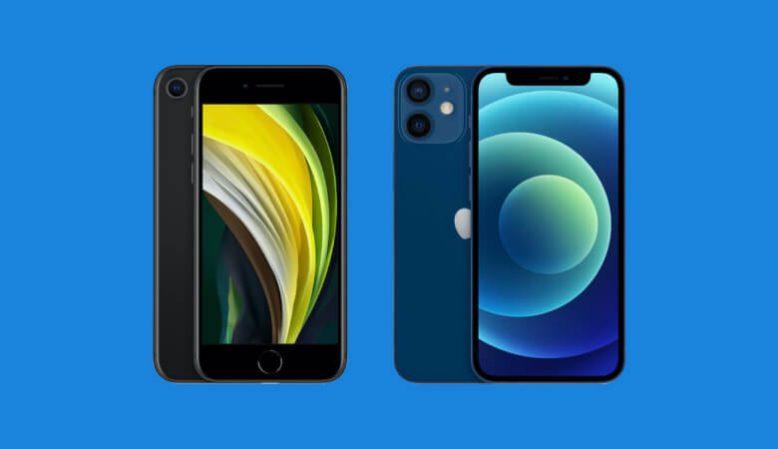 iPhone 12 miniとSE2を徹底比較!スペックの違いはこれだ