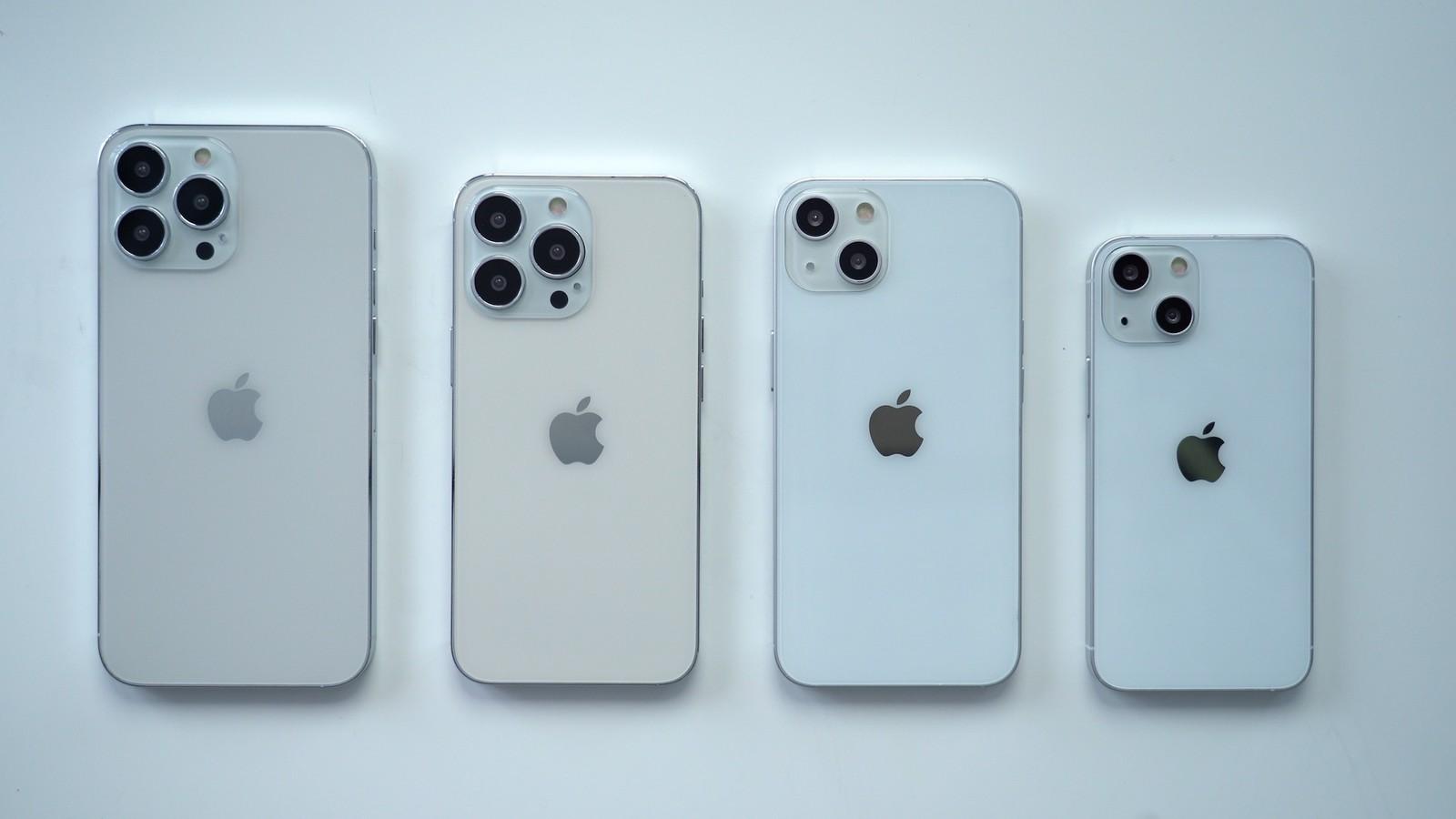iPhone13 デザイン リーク
