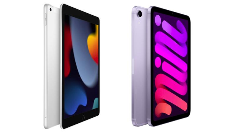 【デザイン】iPadは大きな変化なし。iPad miniはホームボタンを廃止