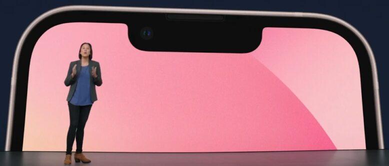 iPhone13 ノッチ②