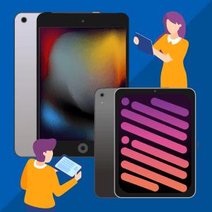 iPad(第9世代)とiPad mini(第6世代)の価格・性能比較!安く買う方法も【2021年最新】